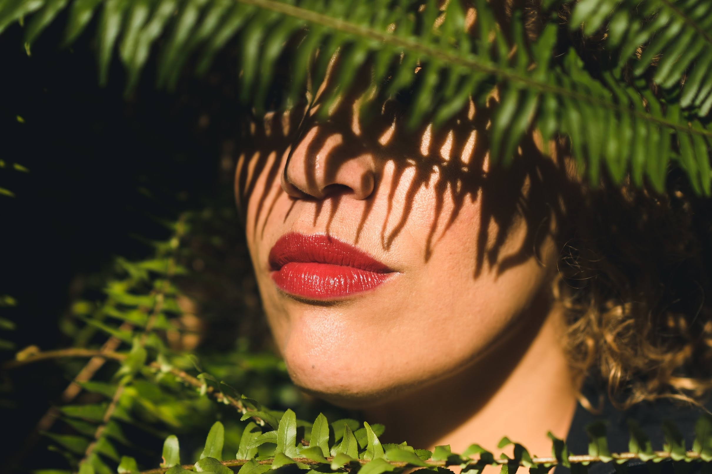 Luscious Red Holiday Lips