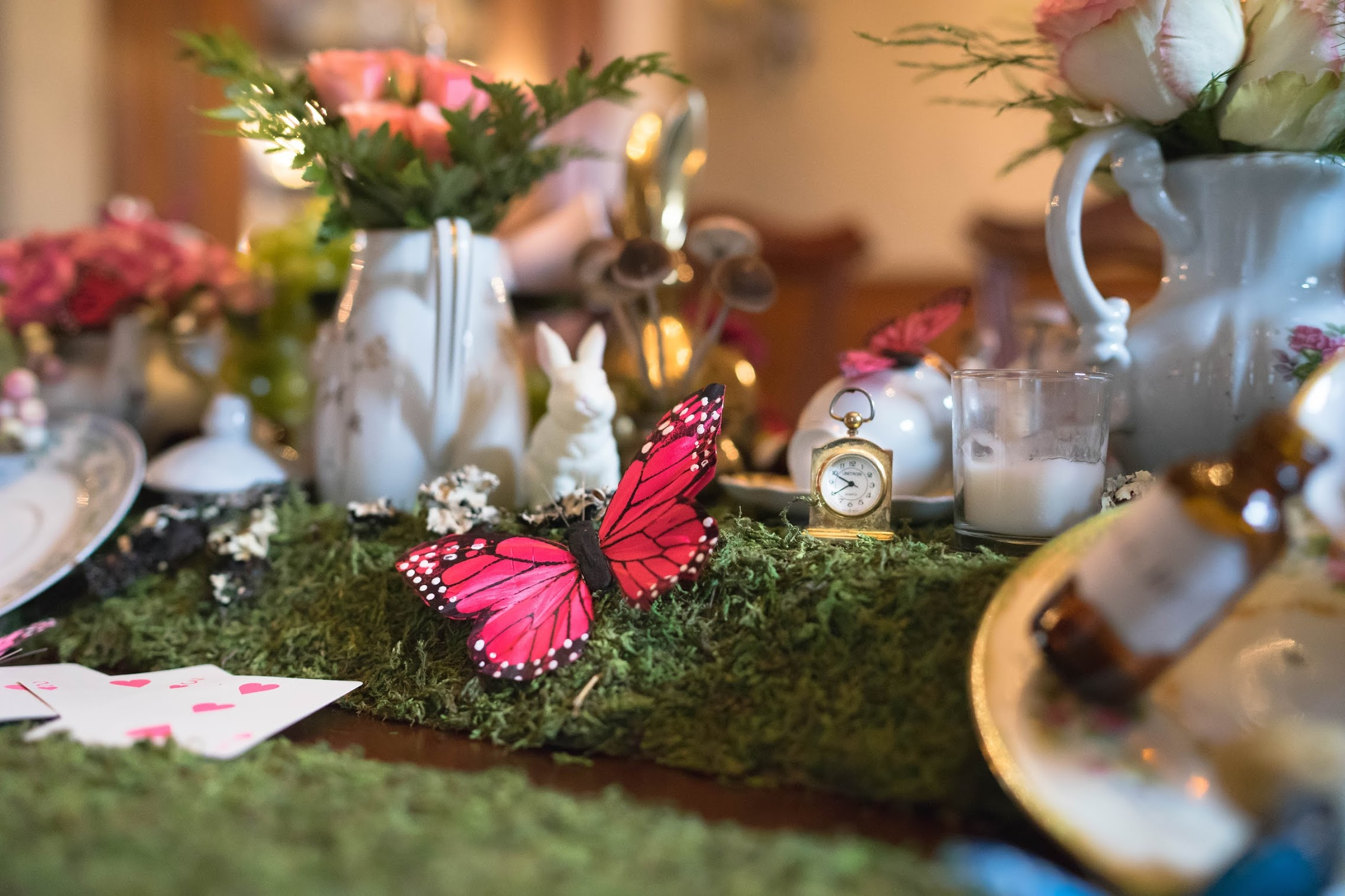 "Hosting a ""Mad Hatter Tea party"" Baby Shower"