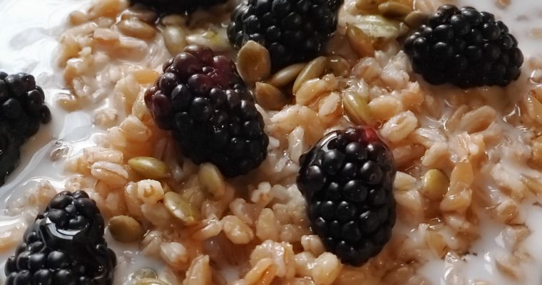 Farro For Breakfast?…Yep!