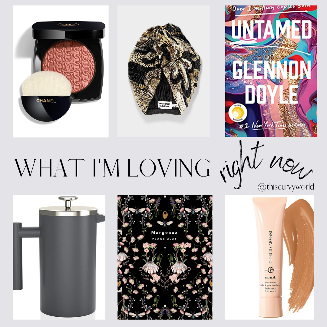 What I'm loving-Right Now